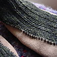 Suede-sole Slipper Socks