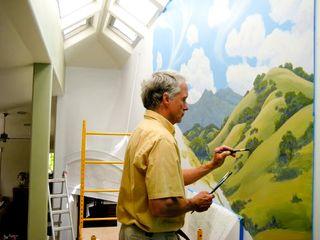 Painitng mural 1