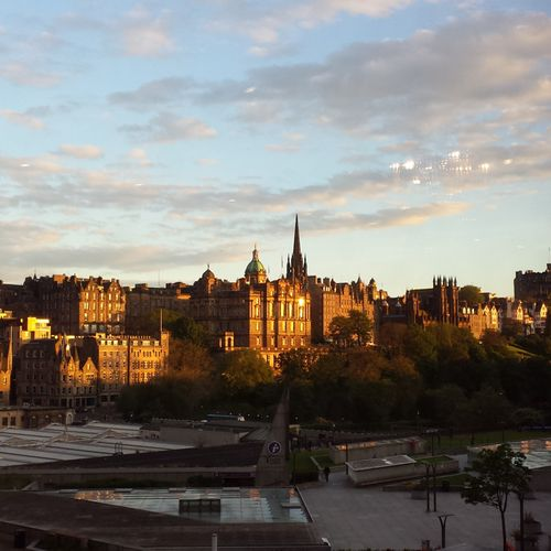 Sunset-view-edinburgh
