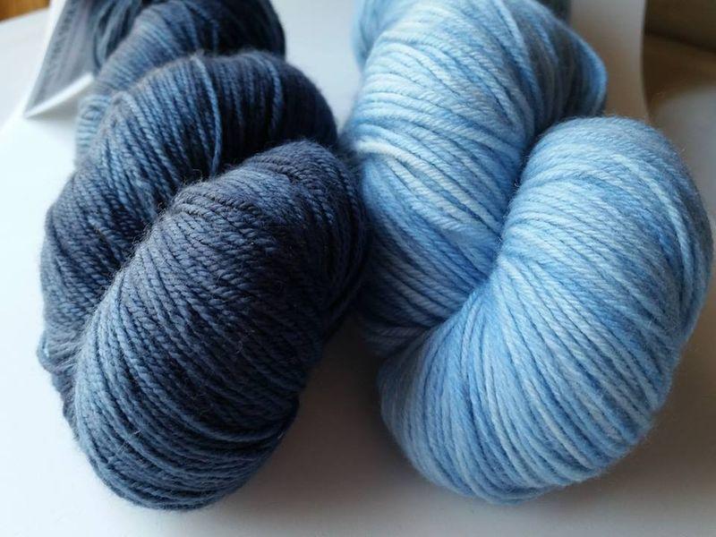 Indigo-light blue