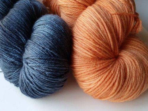 Indigo-orange