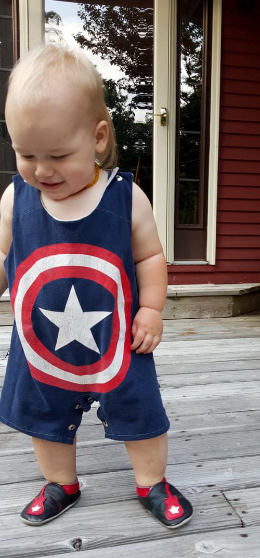 CaptainAmericaRomper