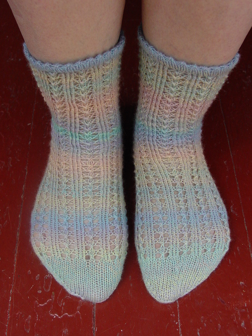 Simply Lovely Lace Socks