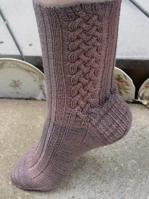 Celtic Braid Socks