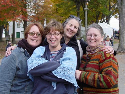 Ann, Cara, Margene, Vicki