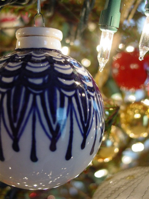 Ornament (blue)